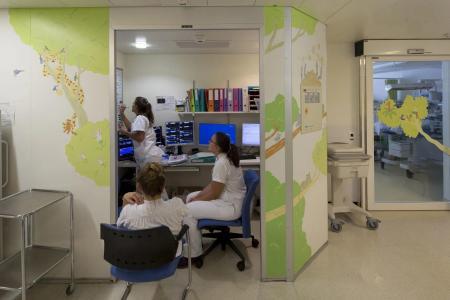 Paint a Smile anime des murs en pédiatrie