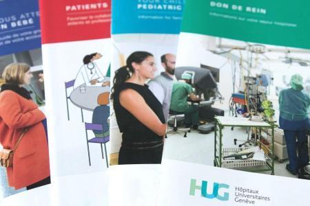 brochures patients HUG