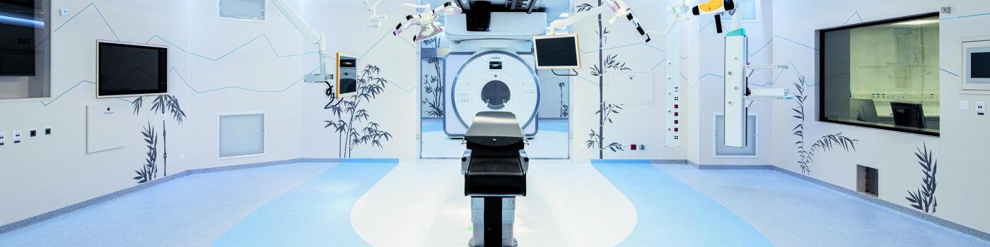 IRM mobile sur des rails