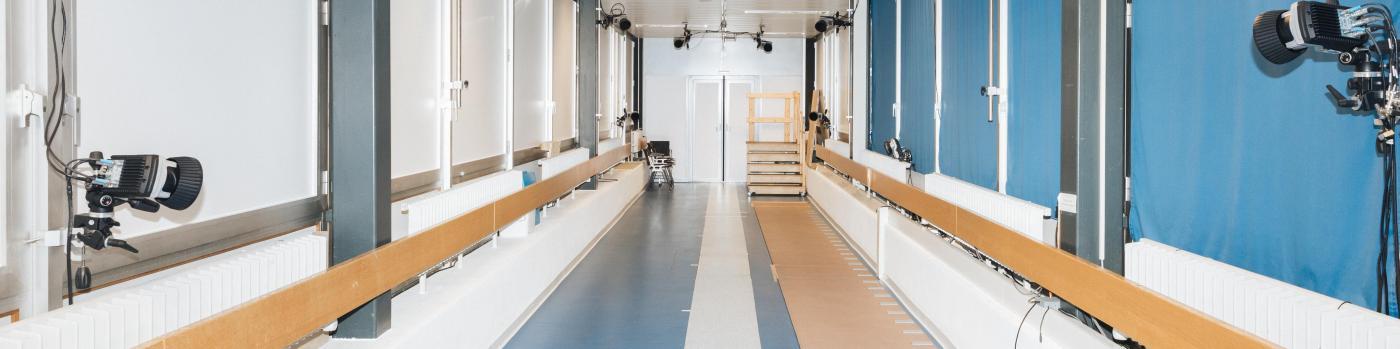 Le laboratoire de cinésiologie