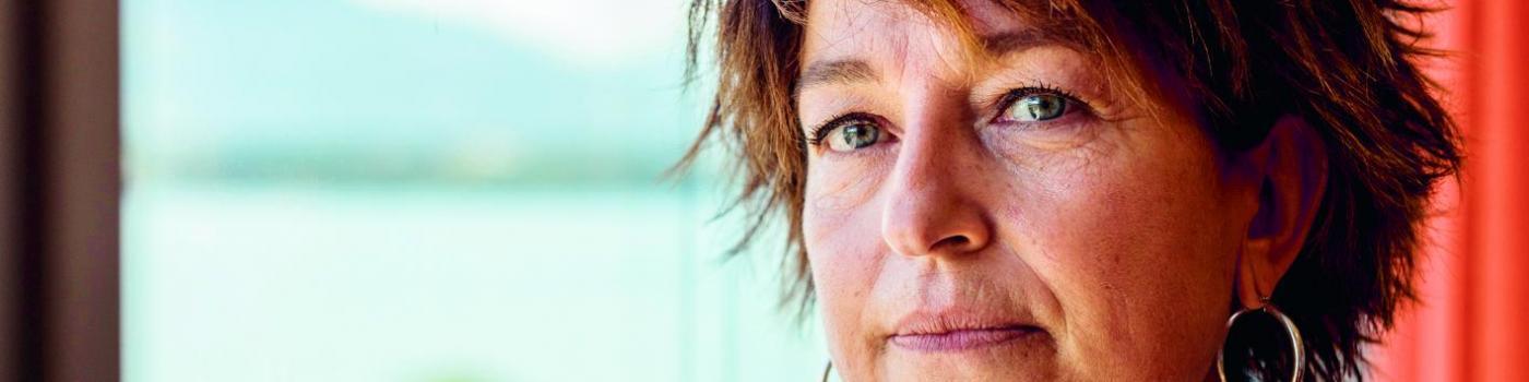 Nathalie Egault, survivante du cancer de sein