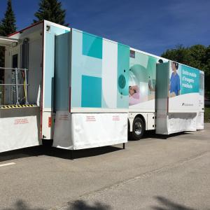 Nouvelle unité mobile d'imagerie médicale