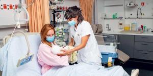 maternité, néonatologie, bébé, liens, accompagnement, post-partum