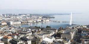 Genève vue aérienne