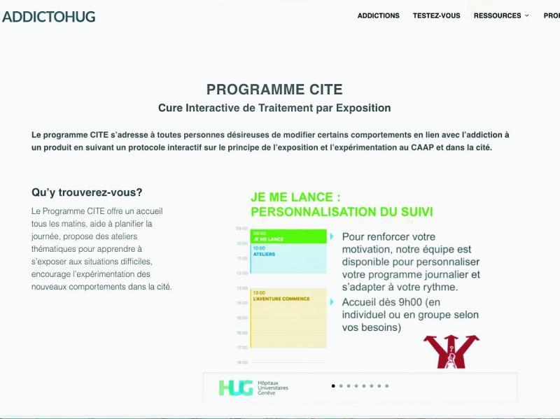 Site internet - programme CITE