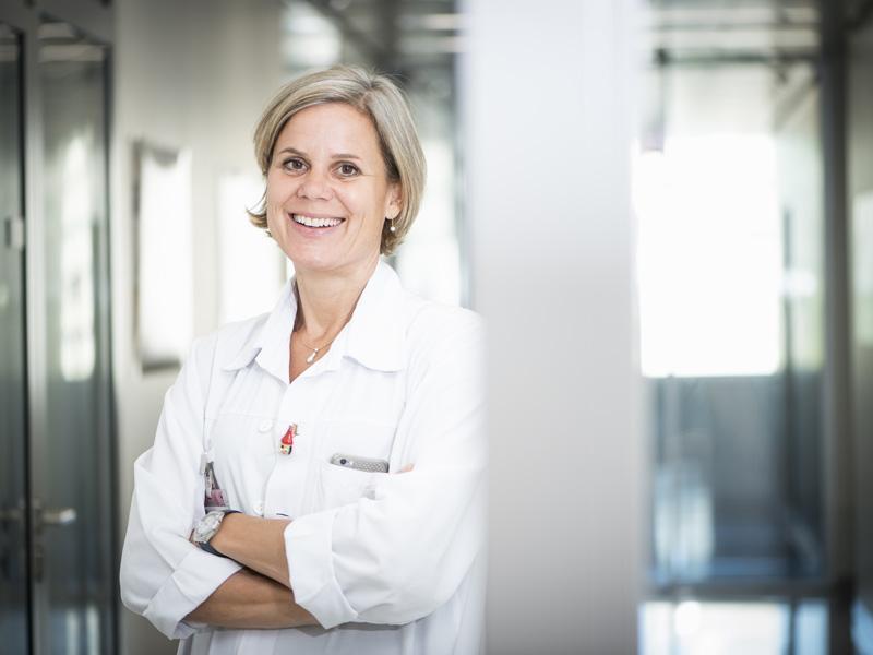Barbara Wildhaber, médecin-cheffe du Service de chirurgie pédiatrique.