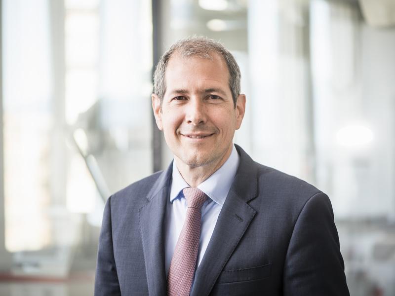 Christoph Huber, médecin-chef du Service de chirurgie cardiovasculaire.